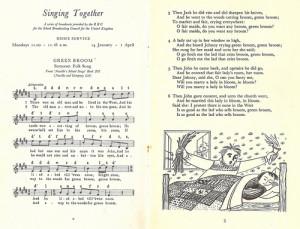 singing tog