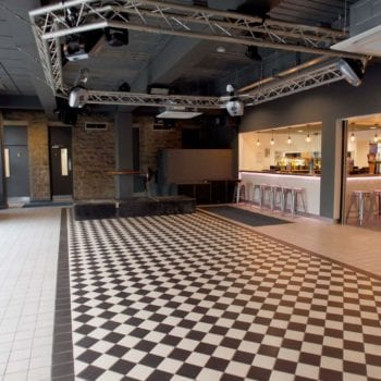 One of the performance spaces